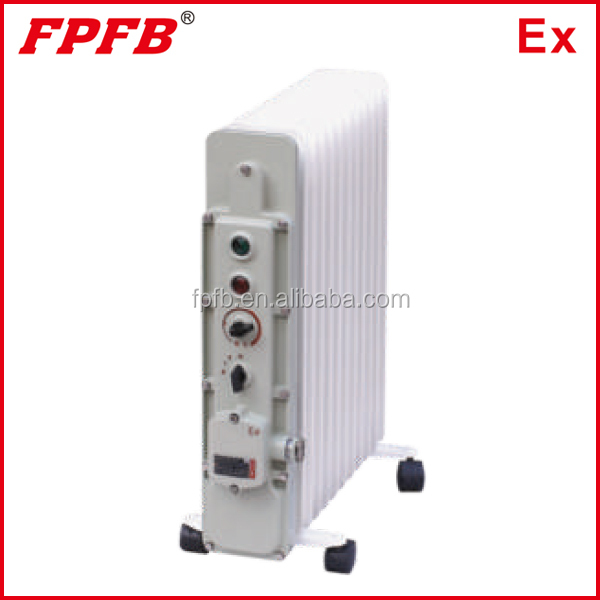 Bdr51 Explosion Proof Electric Oil Heater With Thermal Fins ...