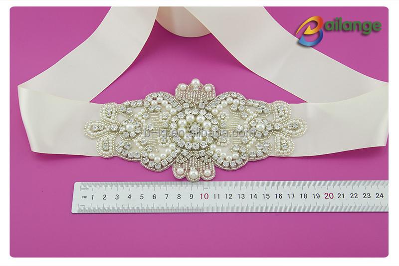Grossisti da sposa cristallo perla strass applique strass taglio