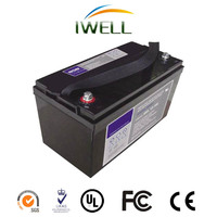 Rechargeable 12v 200ah Deep Cycle Battery Gel Solar power supply Battery