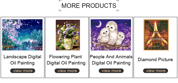 Best selling excellent quality diamond painting kit animal picture