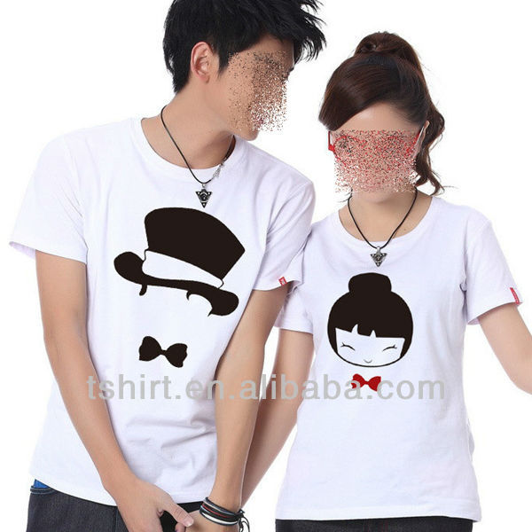 Custom Fashion Personalized Couple T Shirt View Personalized Couple T Shirt Oem Product Details From Shenzhen Global Weiye Clothing Co Ltd On Alibaba Com