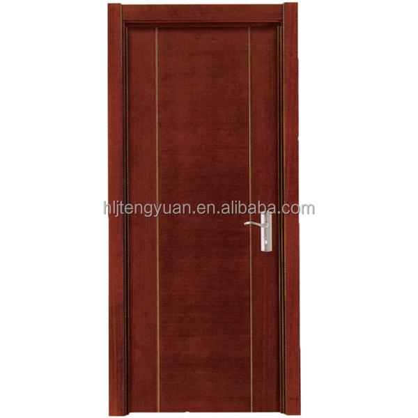Cheap Plain Wood Interior Mahogany Doors