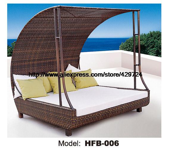 online kaufen gro handel rattan sofa bett aus china rattan sofa bett gro h ndler. Black Bedroom Furniture Sets. Home Design Ideas