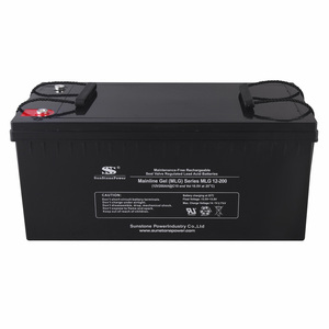 Deep Cycle VRLA Solar GEL Battery 12V 200AH With Best Price Top Performance