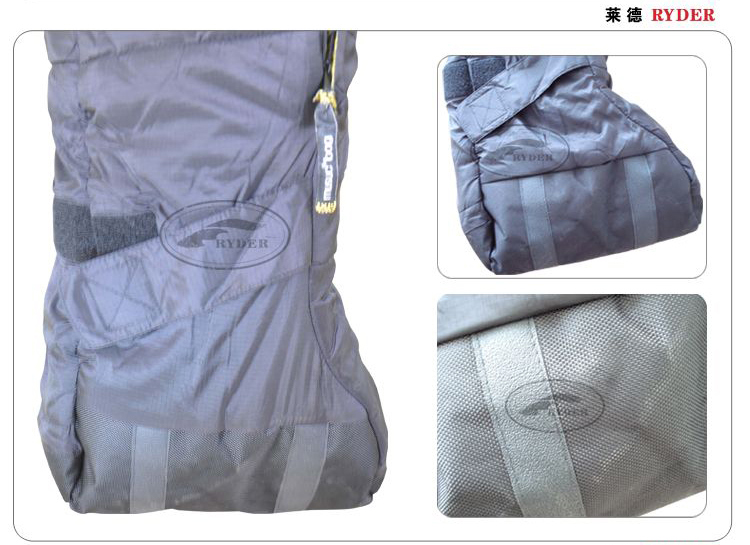 High End Extreme Cold Weather Wearable Body Shaped Human Sleeping Bag
