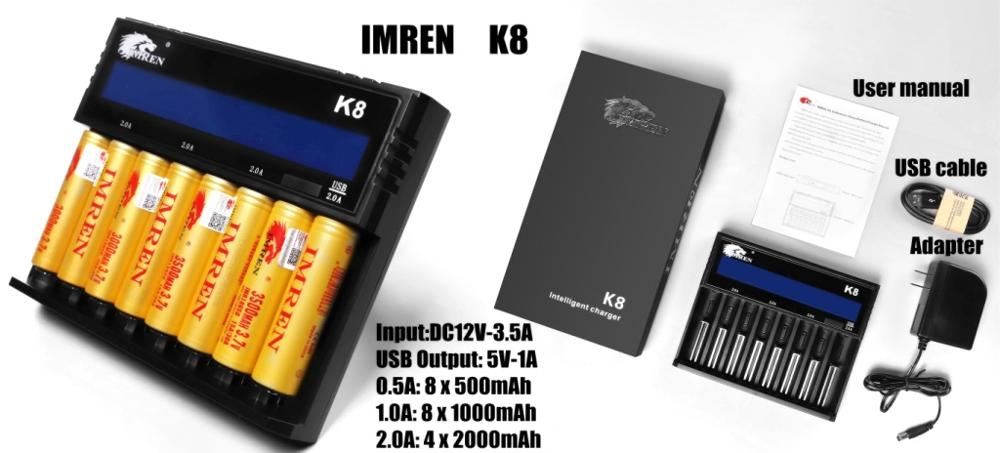 Wholesale Gold IMREN 3500mAh 30A litium ion battery 18650 battery high capacity battery 3.7v for vape 18650 battery
