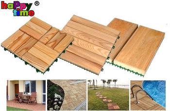 Modular Deck Tile Wood Decking Plastic Base