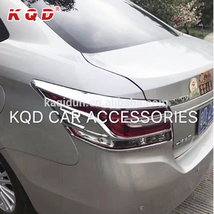 Car spare parts ABS plastic auto chrome kits full sets for vios