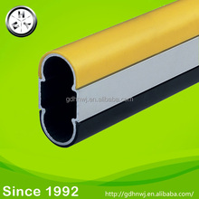Hollow oval tube pipe wardrobe oval tube support