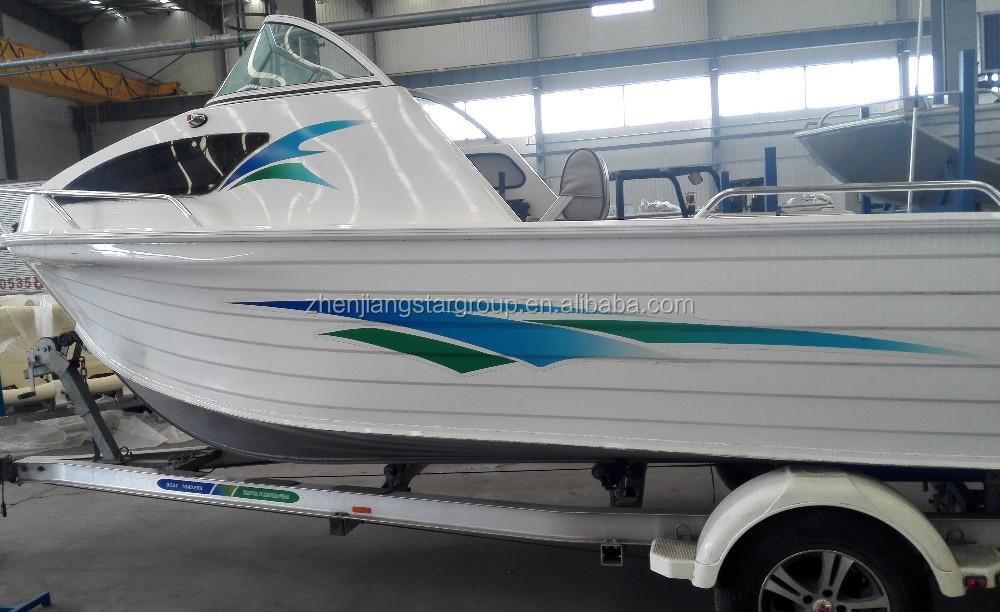 how to clean aluminium boat hull
