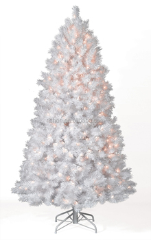 wholesale white pvc pre lit christmas tree fancy led lighted willow xmas tree