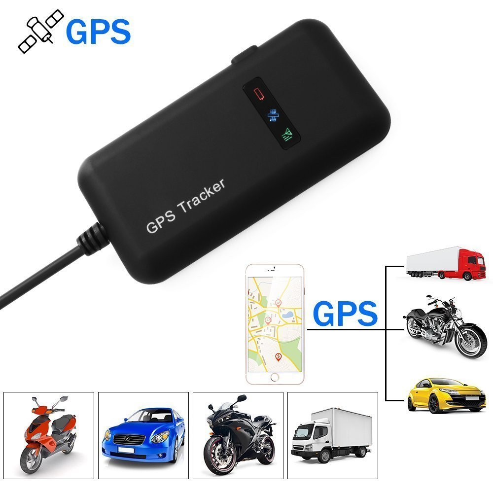GPS Tracker Tracking Device Mini, Anti-thief Real-time Locator GPS/GSM/GPRS/SMS Tracking for Vehicle Car Motor Bike