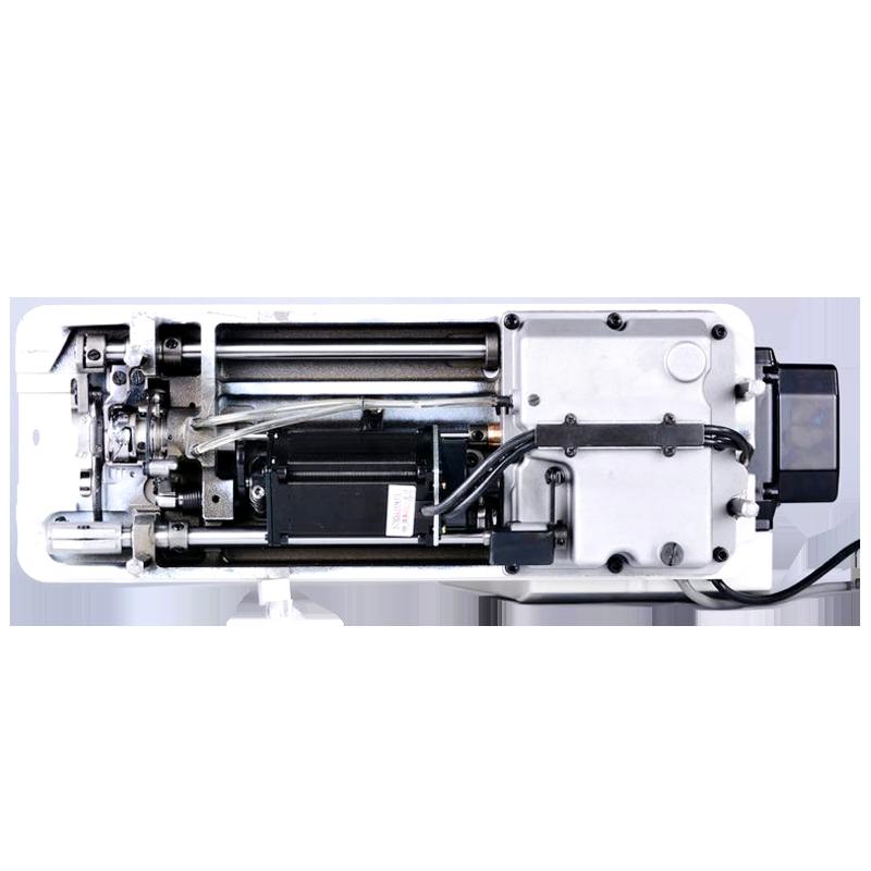 गोल्डन विकल्प R7S बुद्धिमान कम्प्यूटरीकृत माइक्रो तेल डबल चाकू औद्योगिक जोड़ सिलाई मशीन