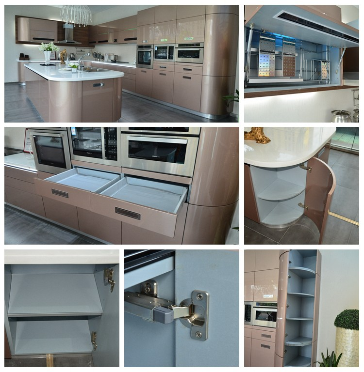 High quality modern design high gloss kitchen buy high for Kitchen design qualifications uk