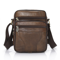 The Most Popular cheap genuine leather mens bag over the shoulder