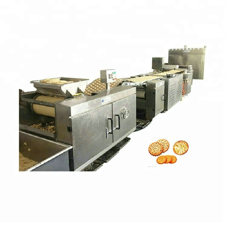 Plein automatique doux biscuit faisant la machine/ligne de production