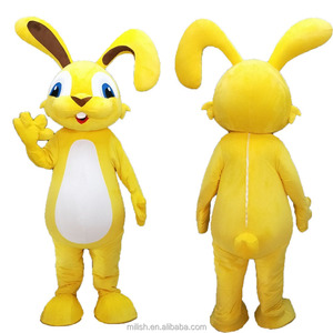 MAE-0200 cartoon Custom Design Easter Bunny Mascot costume