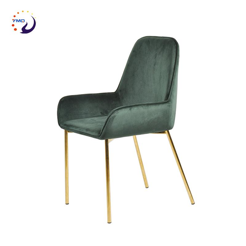 Green Velvet Chair Gold High Back Velvet Dining Chair
