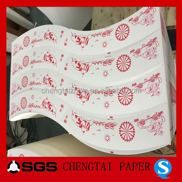 CHENGTAI die cutted pe coated paper for making coffee cup