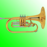F key Marching Mellophone,Marching Band Wind Instruments