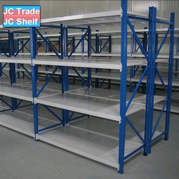Warehouse Factory Steel Plate Storage Rack System and Metal Storage Shelf