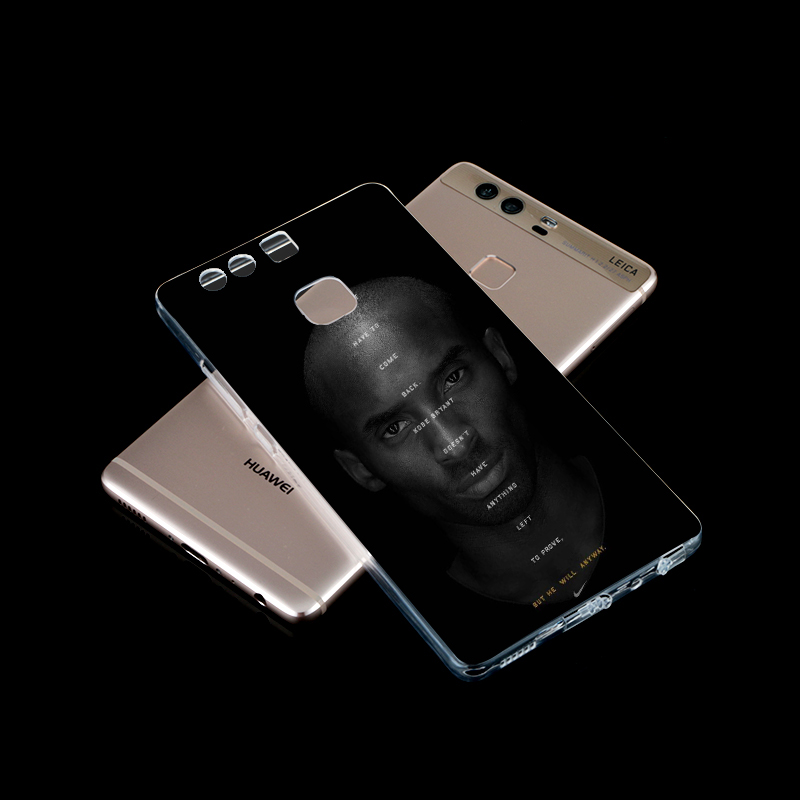 NBA sport stars kobe case for huawei honor7 Fashion Style Creative Design OEM Customize Tpu Case