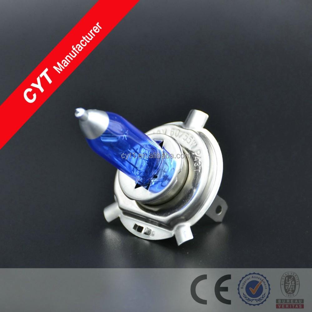 H4 55/60w 12v White Light Auto Headlight Halogen Bulb