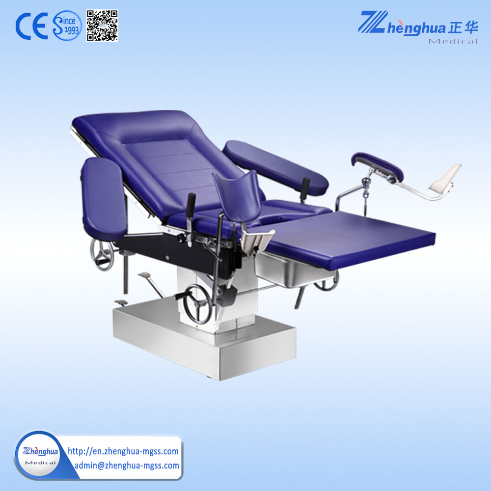 Portable Massage Table With Stirrups Multiuse Doctor