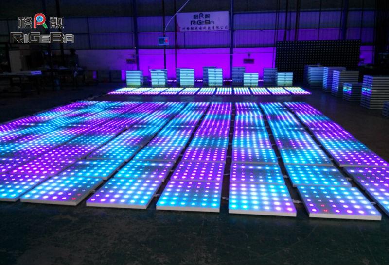 Hot Bar Led Dancing Floor 1m*1m Disco Dance Flooring Led ...