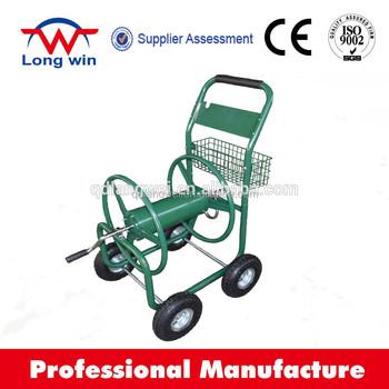 4 wheel hose cart hose wagon industrial hose reel cart