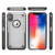 For iPhone XS Max shock proof case, high impact super skin shell for iPhone XS 6.5' OLED screen