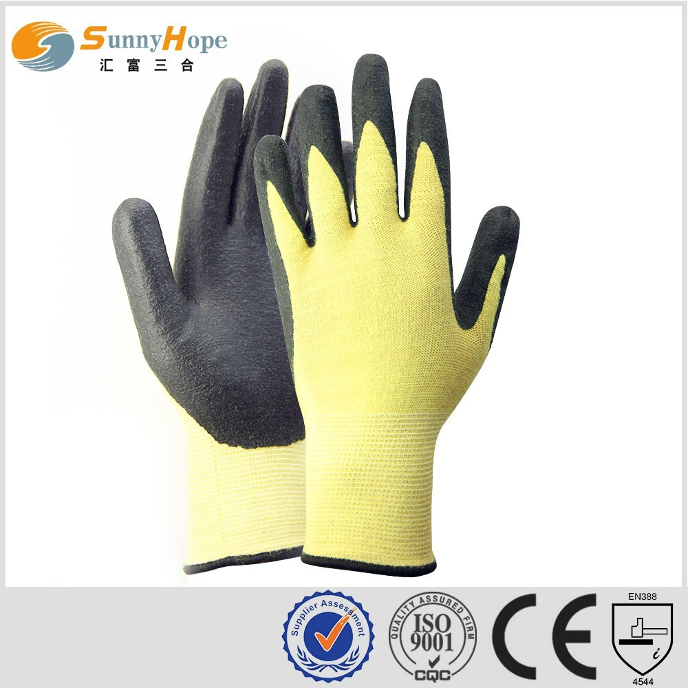 Aramid Fiber Cutting Glove Heat And Cut Resistance Gloves