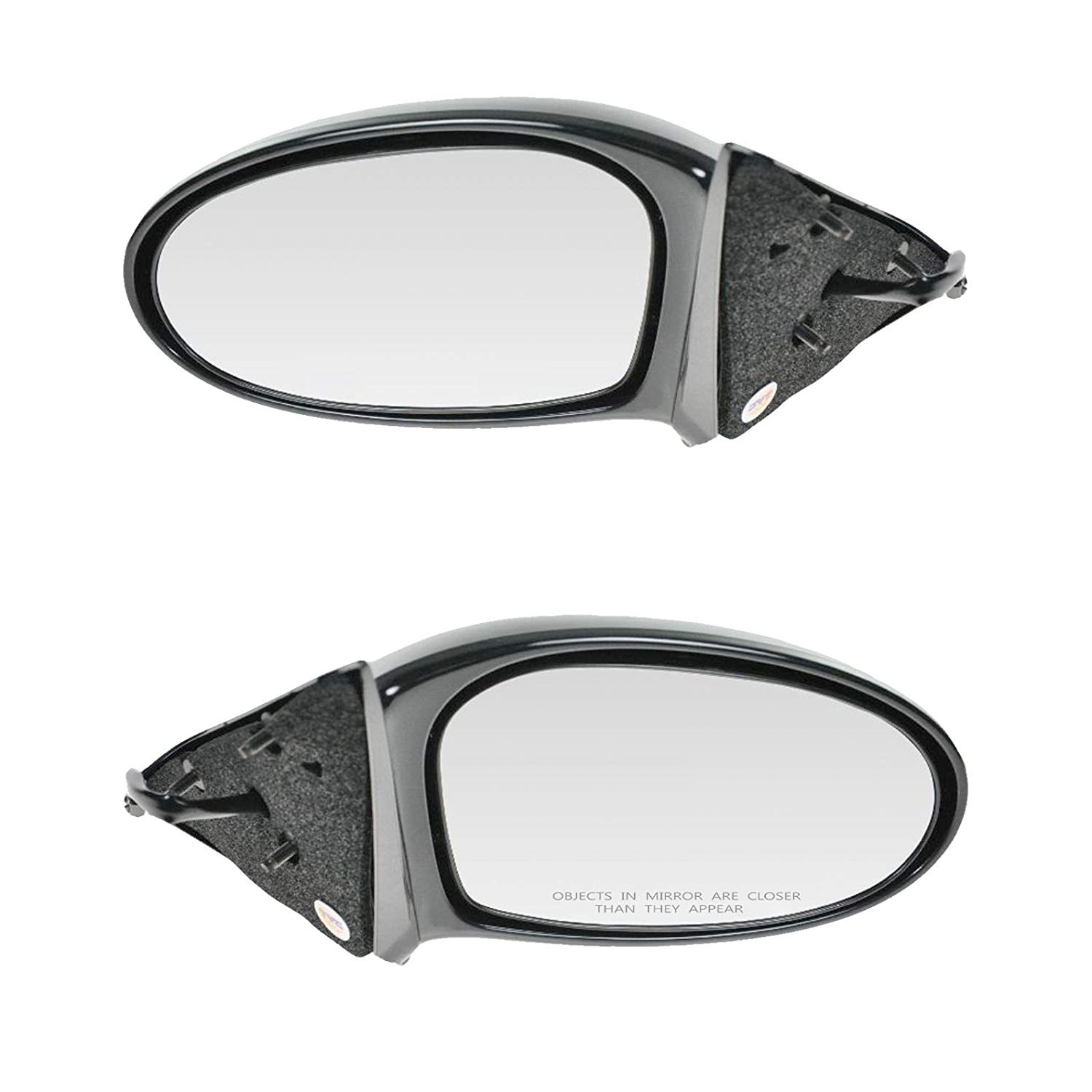 99 00 01-04 Oldsmobile Alero Passengers Side View Power Mirror Smooth Assembly