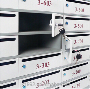 Clear Plastic Mail Box,Traditional Aristocratic, Villa Cold-rolled Plate Mailboxes