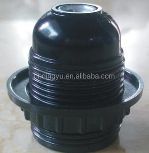 Hot sale bakelite lamp holder E27 E14 for vintage lamp electric lamp holder with all thread screw