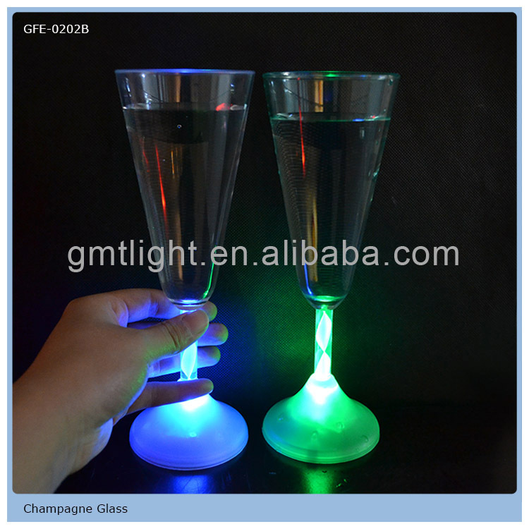 china factory supply beautiful party items led flashing cups