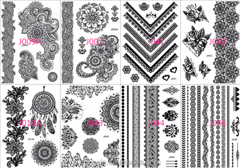 Blanco Y Negro Diseño Nuevo Producto Tatuaje Buy Nuevo Producto