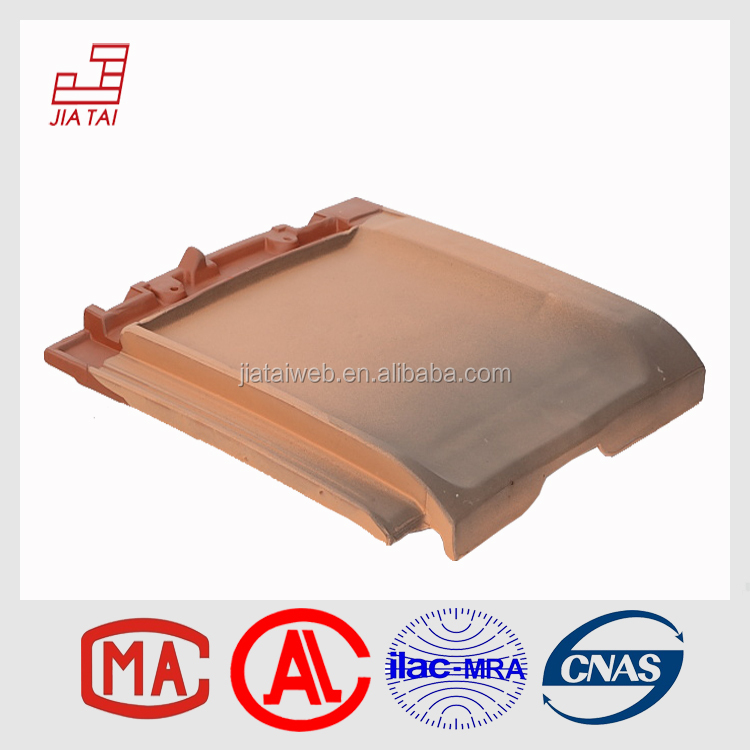 FT-5Y10FB Export interlocking plain clay roofing tile