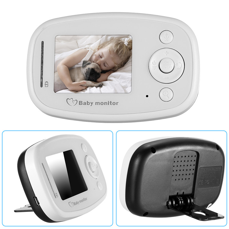 Audio Intercom Video Baby Monitor Wireless 2.4''
