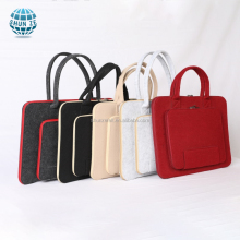 high quality fashionable handmade felt laptop bag