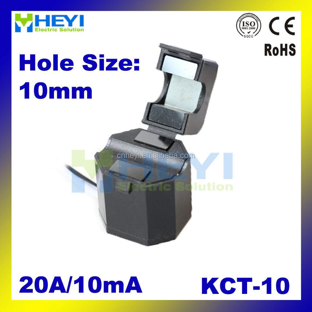 Split Core Current Transformer Clamp on CT KCT-10 20A/10mA