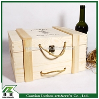 Factory Price Wine Box Wood with Good Quality