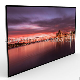 TK-MEWN20 75 Inch Wall-mounted Digital Advertising Panel Infrared Touch Screen