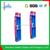 Eco-friendly hair dye cardboard retail floor stand