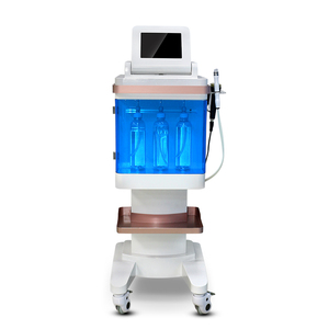 4 in 1 hydro dermabrasion beauty machine /oxygen facial machine with rf ultrasonic
