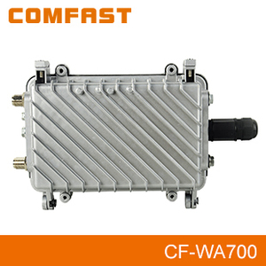 COMFAST CF-WA700 2.4Ghz High Power Outdoor WiFi CPE 48V POE Power Adapter Double 7 DBi Antenns Double PA
