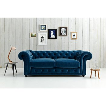 SB012 High End Italian Chesterfield Leather Sofa Bed