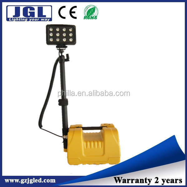 Rechargeable Led Work Light Long Working Time Site Lighting For ...