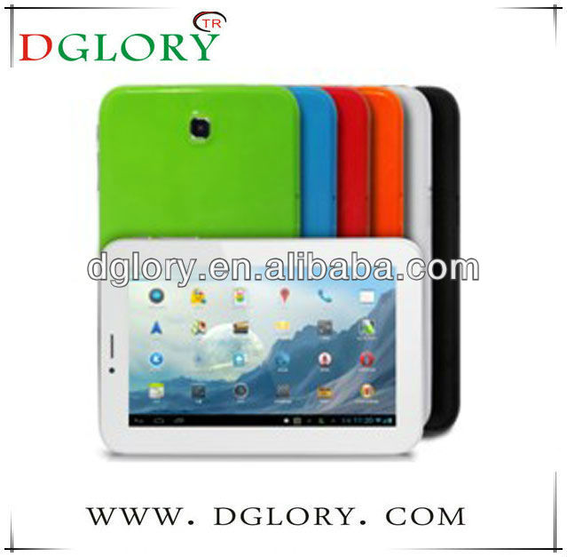 DG-TP7003 New 7 inch tablet pc MTK8312 2G phone call bluetooth 512MB/4GB various colors
