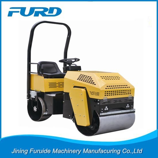Hot Sale Furd Double Drum Vibrating Hand Operated Hydraulic